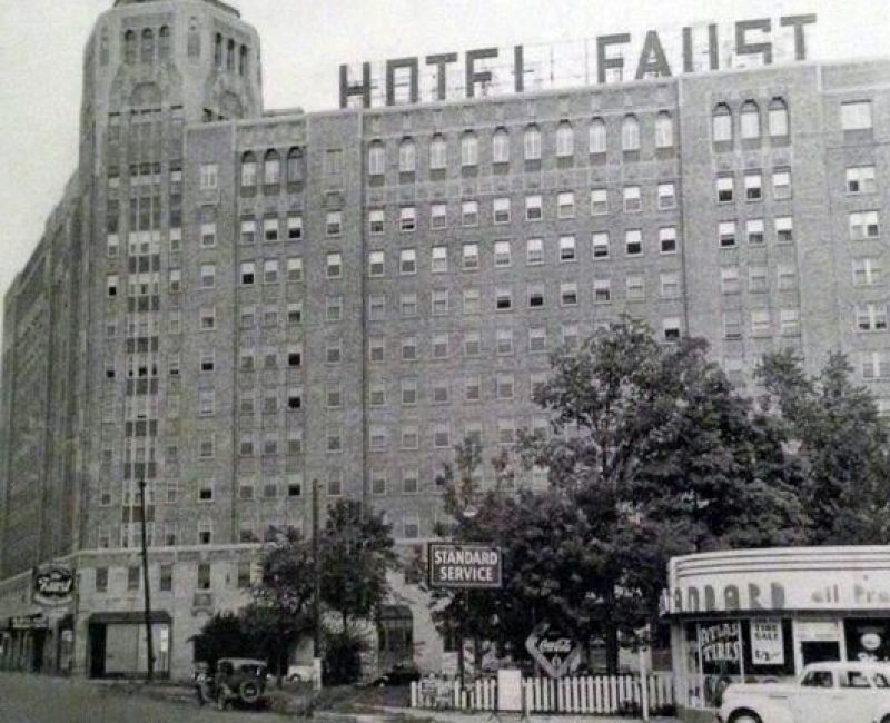 faust hotel rockford - before